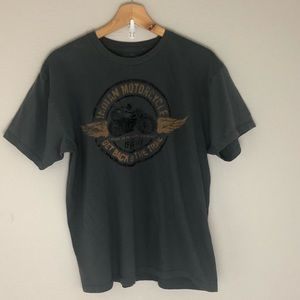 Lucky brand Indian motorcycle exclusive T-shirt L